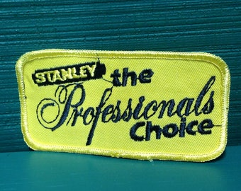 """4"""" NOS Stanley cloth Patch"""