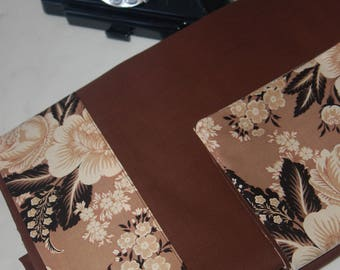 Set of sheets Chocolate and flowers
