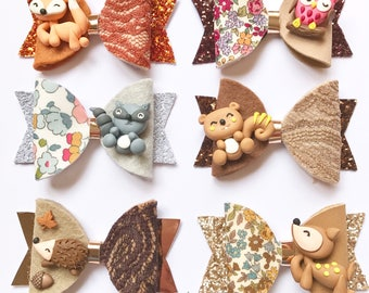 Limited Edition Woodland Animals Bow
