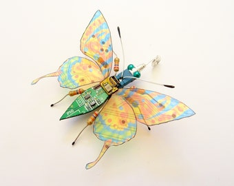 Tiny Swallowtail Butterfly, Mini Bug by Julie Alice Chappell