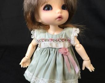 Dress and pants for Pukifee/ Lati yellow or similar 16cm doll
