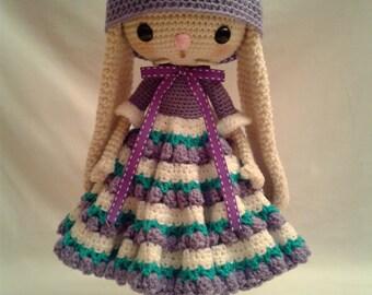 COCO BUNNY Crochet Amigurumi Doll - Crochet Easter Bunny Rabbit