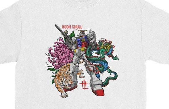 gundam rooskull Short-Sleeve T-Shirt