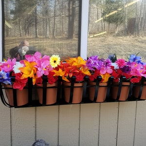 36 Inch Wrought Iron Window Box Planter Inside Length ..... 41 Inches