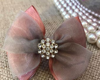 Light Pink Hair Bow, Pink Hair Bow Clip, Pink Hair Bow, Hair Bow, Light Pink Hair Clip, Light Pink Bow, Baby Pink Bow