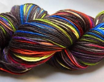 Primary Pixelated Sock Yarn