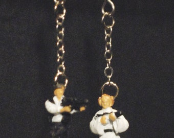 Star Wars Han Solo and Leia Organa Earrings