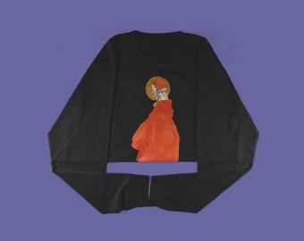 Sweatshirt - Standing Figure with Halo