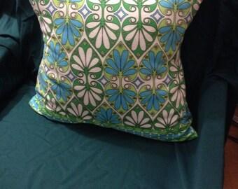 Spring Leaf Throw Pillow