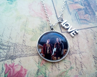 Stydia necklace, teen wolf jewelry, stiles stilinski necklace, lidya martin necklace