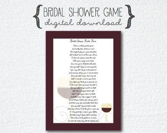 imgenes de pass the gift bridal shower games