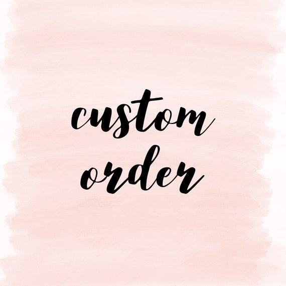 Custom Order Susan