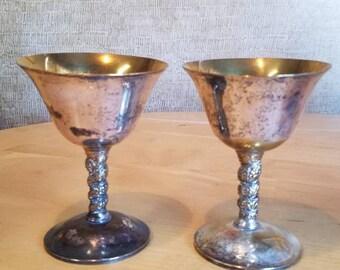Goblet Chalice Renaissance Set of 2 Spain