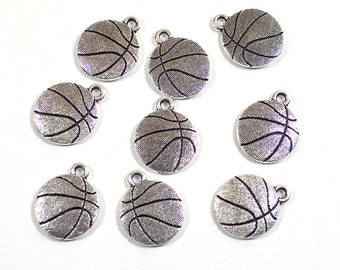 TierraCast Basketball Charms - Choose Your Quantity