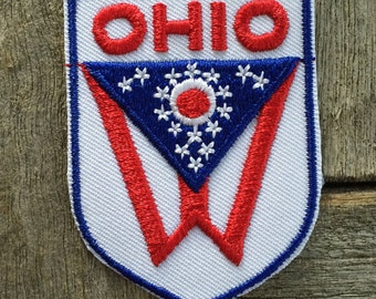 Ohio Vintage Souvenir Travel Patch from Voyager
