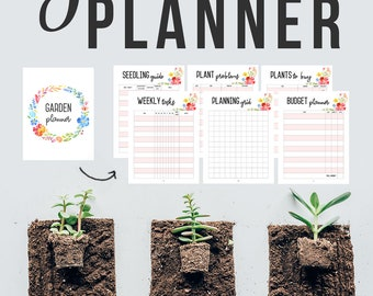 25 Page Garden Planner Printable