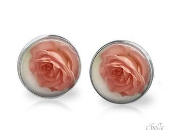 Ear studs of pastellener cherry blossom 5