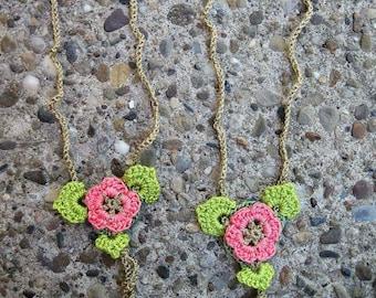 Crochet Flower Boho Yoga Barefoot Sandal