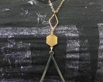 Geometric Pendant Necklace