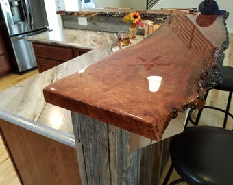 Live Edge Countertop Etsy