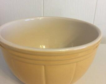 Vintage yellow bowl