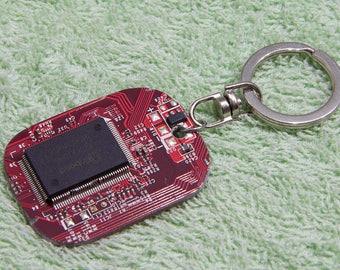 Funny keychains, Computer engineer, Modern keychains, Cpu keychain, Circuit board, Computer science, Computer geek gifts, Steampunk gadgets