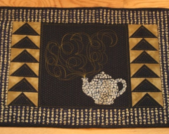 Pattern Tea Serving Mat - sewing pattern