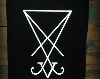 Sigil of Lucifer patch//Satanic patch//Occult patch//Punk patch