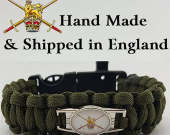 The British Army Paracord Bracelet Wristband Great Gift