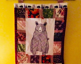 18x20 Quilted Wall Hanging - multiple themes