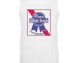 Pure White Trash Tank Top
