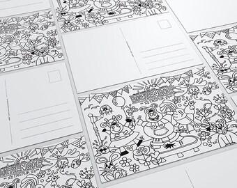 Custom coloring Sheet