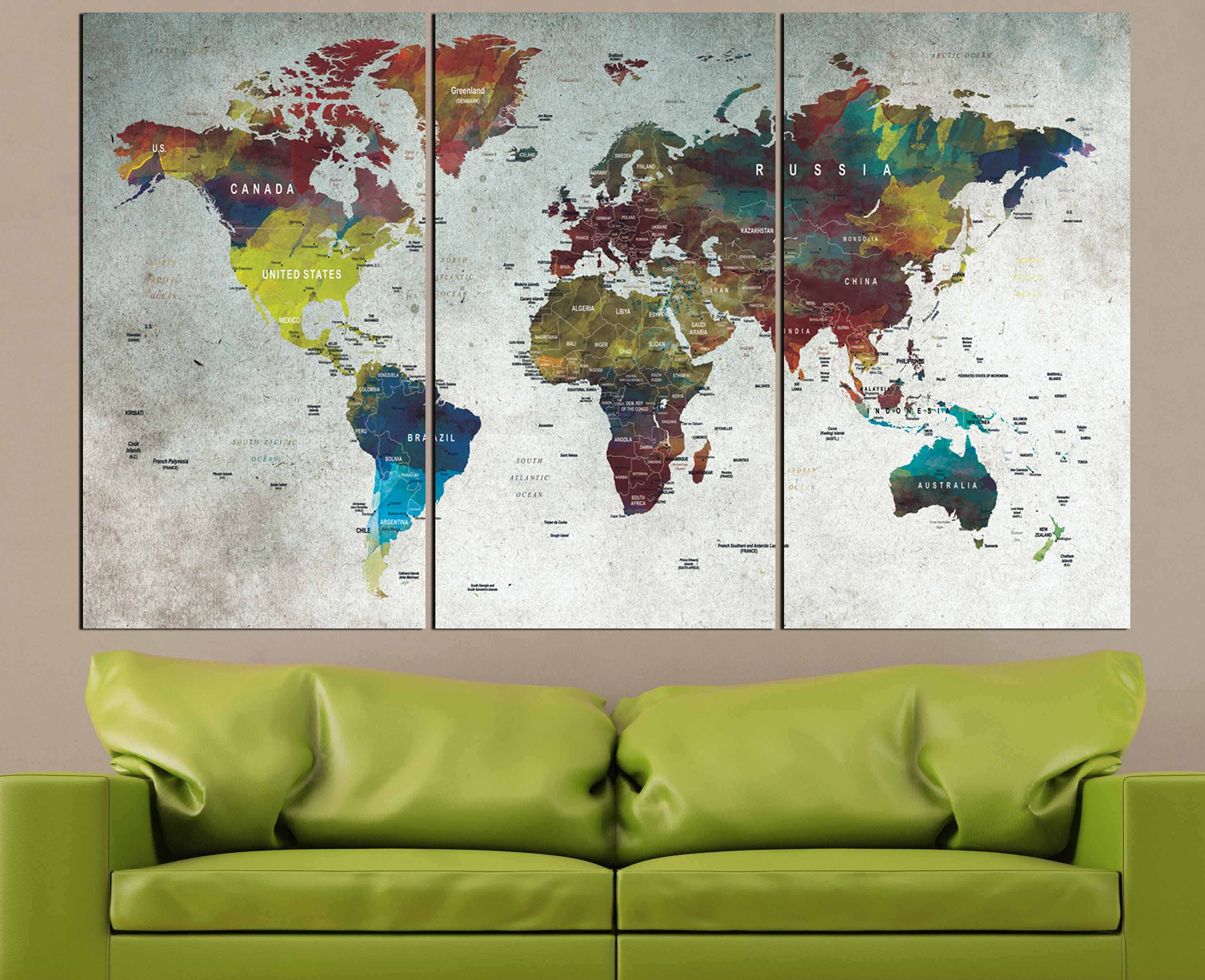 World mapmapwall artlarge world mappush pin mapabstract world world mapmapwall artlarge world mappush pin mapabstract world mappush pin map canvasdecorative canvas artworld travel mapmap canvas gumiabroncs Images