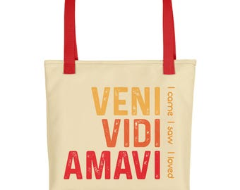 Cool Latin Quotes Book Lover Tote Bag | Bibliophile Best Book Lover Gift | Best Bookish Gift Cute Bookbag | Best Gift Bag