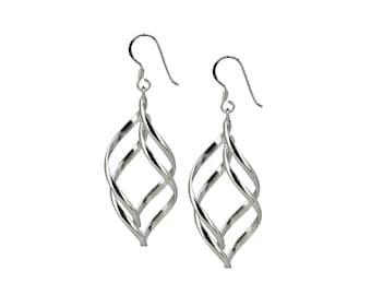 Sterling Silver Earrings, Sterling Silver Dangle Earrings, Silver Earrings, 925 Silver Earrings