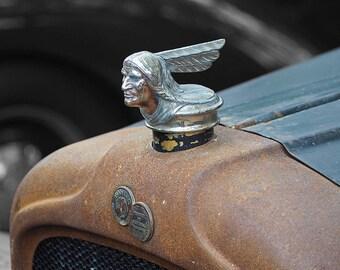 Vintage Pontiac hood
