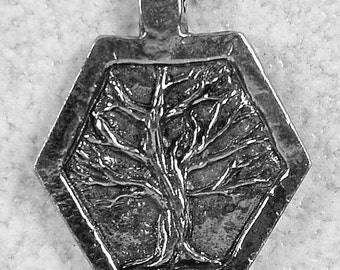 Green Girl Studios Wisdom Tree Pendant