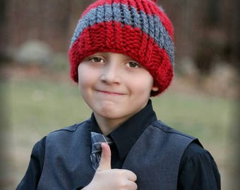 Kids Pompom Hat