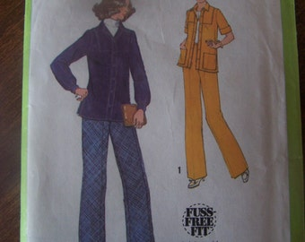 Simplicity 8748, size 12, UNCUT womens, misses sewing pattern, jacket and pants, vintage