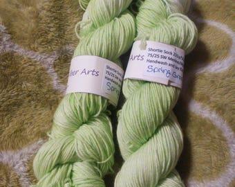 Spring Green-Shortie Sock