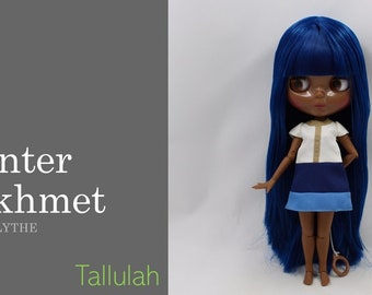 Winter Sekhmet AFRO BLYTHE DOLL,  Collector Series