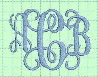 Interlocking Vine Monogram