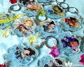 Overwatch 2in Acrylic Charm SETS!