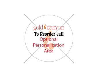 Gold Canyon Reorder Stickers