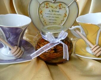 Edible Gourmet Gift,  Pecans in Honey