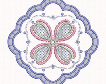 Doily Design, Cutwork, Machine Embroidery Design, Doily Pattern, Swirls, Instant Download