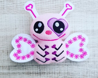 Love Bug ITH Embroidery Pattern