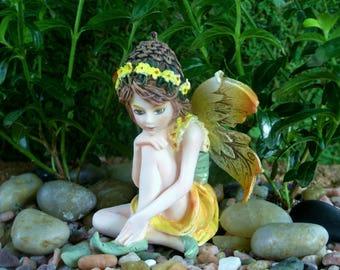 Garden Fairy - Fairy Garden - Miniature Gardening - Indoor Gardening - Home Decor - Figurine