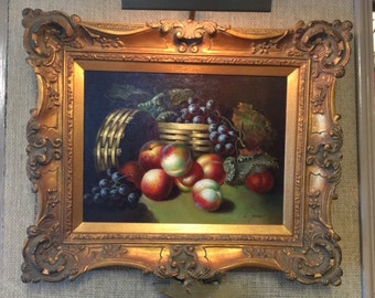 Fruit Painting original oil