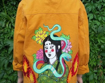 handmade japanese jacket